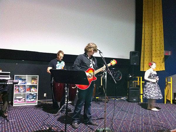 David Andrew Wiebe Band at Calgary Life Church