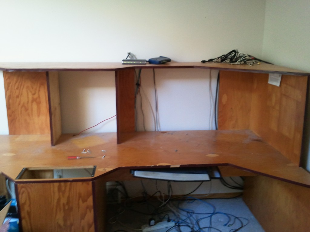 Red Flame custom studio desk