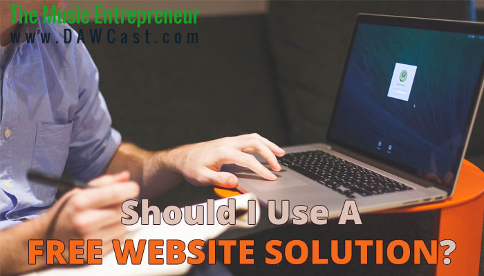 Should I Use a Free Website Solution?