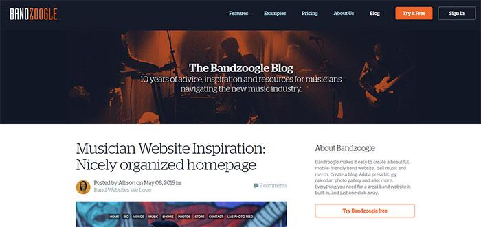 Bandzoogle Blog