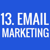 13. Email Marketing