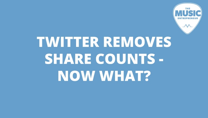 Twitter Removes Share Counts - Now What?