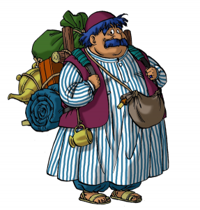 Torneko Taloon from Dragon Quest IV builds his own retail store
