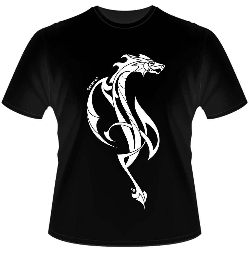Goemon5 dragon T-shirt