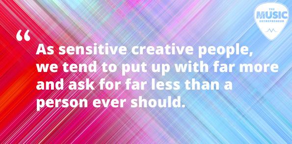 Sensitive creative people